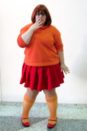 Velma Dinkley from Scooby Doo worn by Kagome-chan