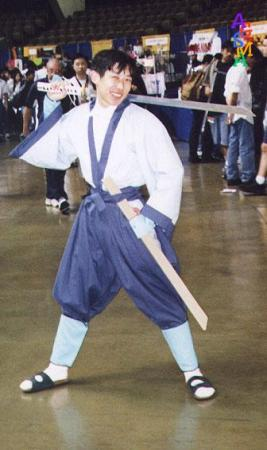 Soujiro Seta from Rurouni Kenshin