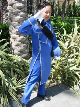 Roy Mustang from Fullmetal Alchemist