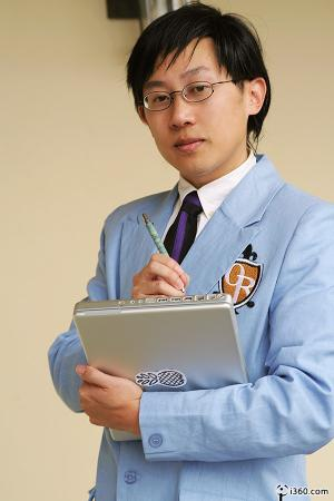 Kyoya Ootori from Ouran High School Host Club (Worn by waynekaa)