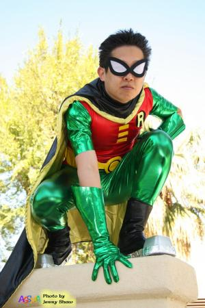Robin from Teen Titans (Worn by waynekaa)
