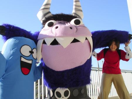Eduardo from Foster's Home For Imaginary Friends (Worn by waynekaa)