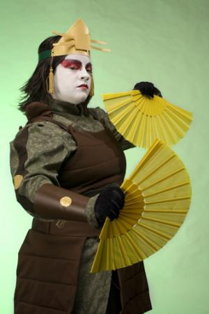 Suki from Avatar: The Last Airbender worn by Sweet~Pea