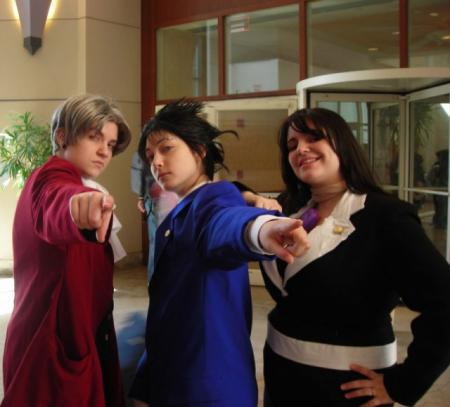 Phoenix Wright from Phoenix Wright: Ace Attorney worn by Ender Kou