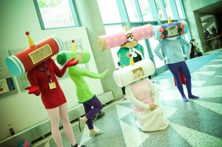 Prince of the Cosmos from Katamari Damacy worn by Ender Kou