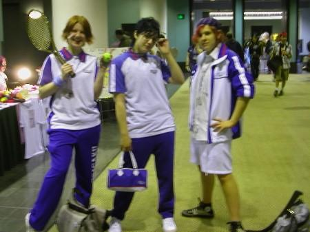 Sadaharu Inui from Prince of Tennis worn by Ender Kou
