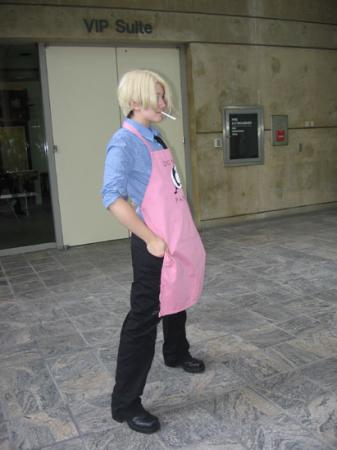 Sanji from One Piece worn by Ender Kou