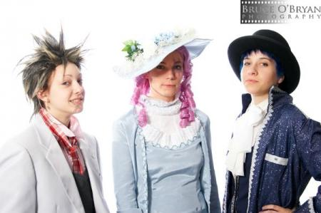Arashi Nagase from Paradise Kiss worn by Ender Kou