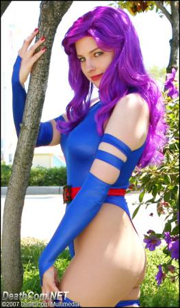 Psylocke from Marvel vs Capcom 2 worn by AuroraPeachy