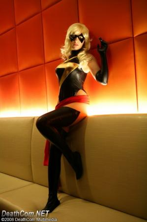 Ms. Marvel from Marvel Comics worn by AuroraPeachy