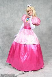 Princess Peach Toadstool from Super Mario RPG worn by AuroraPeachy