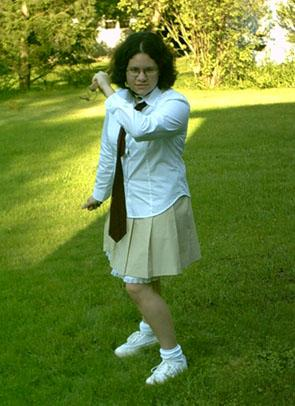 Satomi Noda from Battle Royale worn by SaiyenGirl