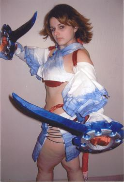 Yuna from Final Fantasy X-2 worn by Reiko