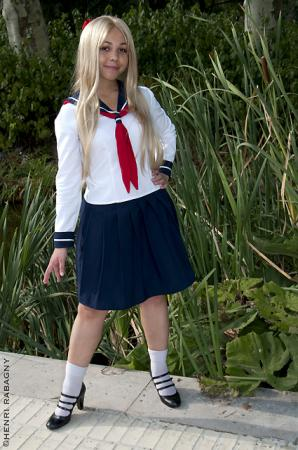 Minako Aino from Sailor Moon worn by Minako