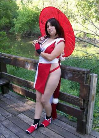 Mai Shiranui from King of Fighters 1999 worn by cactusmomma