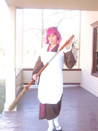 Kohaku from Melty Blood Re-ACT