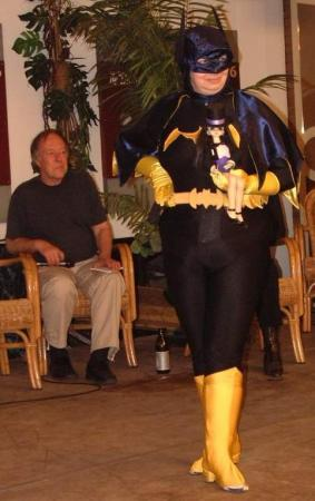 Batgirl from Batman worn by Fénicia