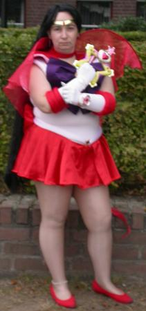 Sailor Mars from Pretty Guardian Sailor Moon worn by F??nicia