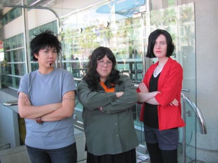 Jane Lane from Daria worn by Hitori