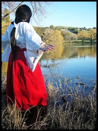Kikyo from Inuyasha worn by Hanyaan