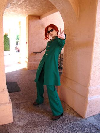 Noriaki Kakyoin from Jojo's Bizarre Adventure worn by Hanyaan
