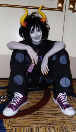 Gamzee Makara from MS Paint Adventures / Homestuck worn by Hanyaan