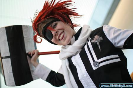 Lavi from D. Gray-Man worn by Hanyaan