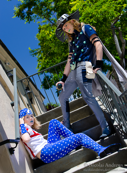 Newest Photo - Click for More Johnny Joestar Steel Ball Run