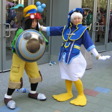 Donald Duck from Kingdom Hearts worn by Hoshikaji