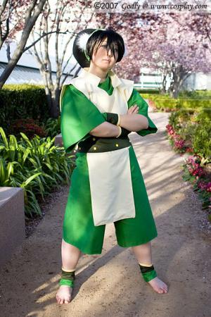 Toph Bei Fong from Avatar: The Last Airbender worn by Hoshikaji