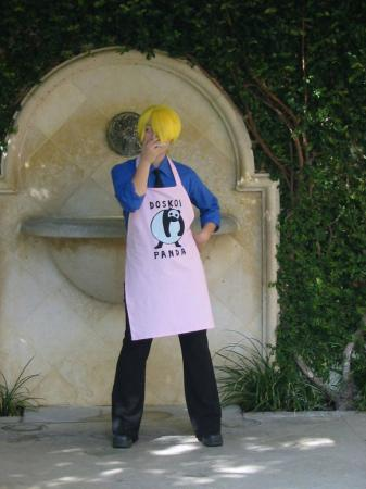 Sanji from One Piece worn by Hoshikaji