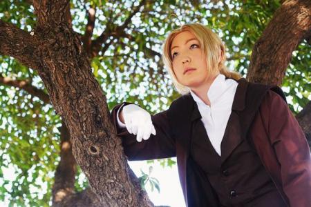 Edward Elric from Fullmetal Alchemist worn by Hoshikaji