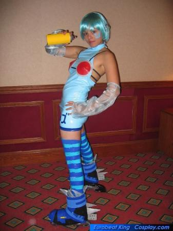 Rhyth from Jet Set Radio Future worn by Ayanami Lisa