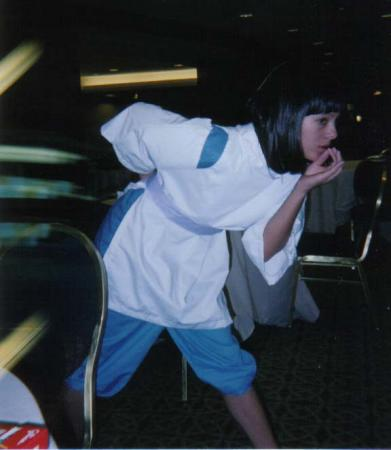 Haku from Spirited Away worn by Ayanami Lisa