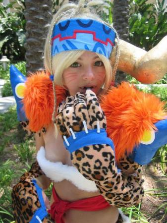 Rikku from Final Fantasy X-2 worn by Ayanami Lisa