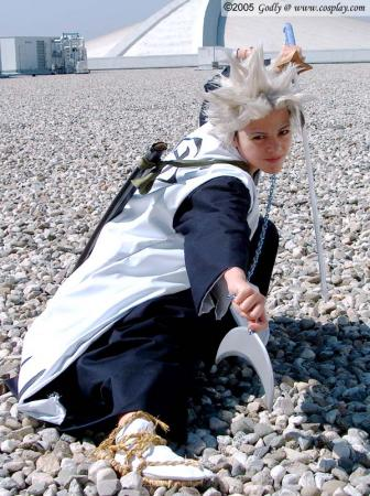 Toushiro Hitsugaya from Bleach worn by Ayanami Lisa