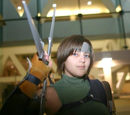 Yuffie Kisaragi from Final Fantasy VII worn by Yuffie Leonheart
