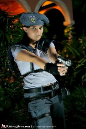 Jill Valentine from Resident Evil worn by Yuffie Leonheart