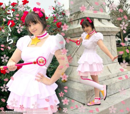 Sakura Kinomoto from Card Captor Sakura worn by Yuffie Leonheart