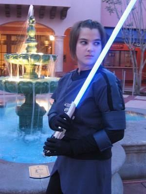 Bastila Shan from Star Wars: Knights of the Old Republic I worn by Yuffie Leonheart