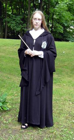 Slytherin Student from Harry Potter worn by Countess Lenore