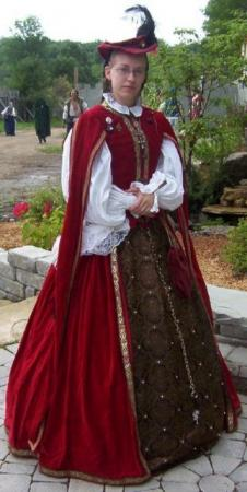 Countess Lenore Veres from Original:  Historical / Renaissance worn by Countess Lenore