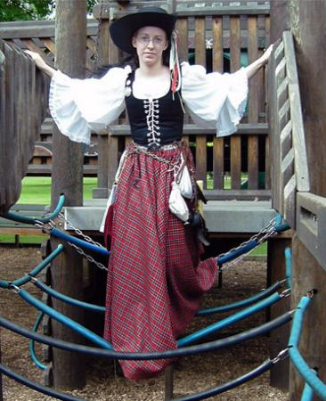 Scottish Wench from Original:  Historical / Renaissance worn by Countess Lenore