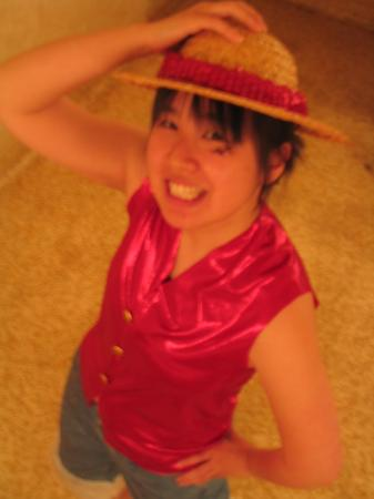 Monkey D. Luffy from One Piece worn by Kawaii Aya