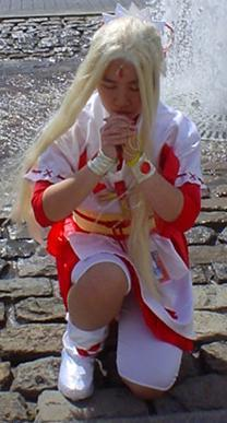 Kaitou Jeanne from Kamikaze Kaitou Jeanne worn by Kawaii Aya