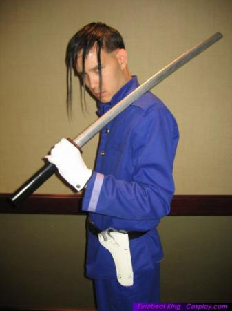 Saitou Hajime from Rurouni Kenshin worn by Eurobeat King