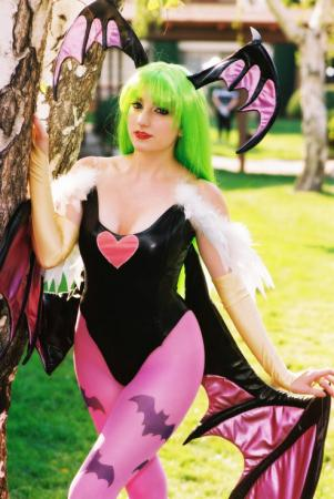 Morrigan Aensland from Darkstalkers worn by Lillyxandra