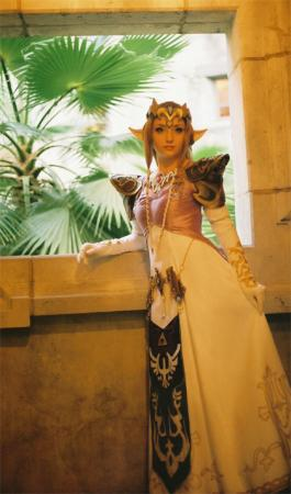 Princess Zelda from Legend of Zelda worn by Lillyxandra