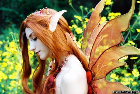Autume Faerie from Original:  Fantasy worn by Lillyxandra