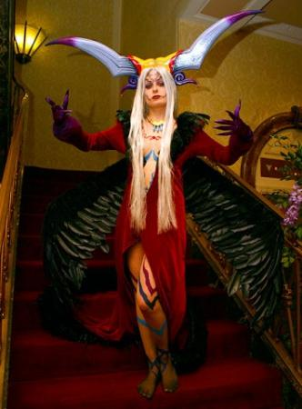 Ultimecia from Final Fantasy VIII worn by Pixie Kitty